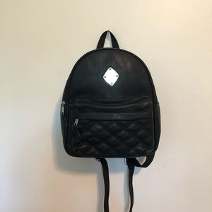 Claire's Faux Leather Backpack 🎒